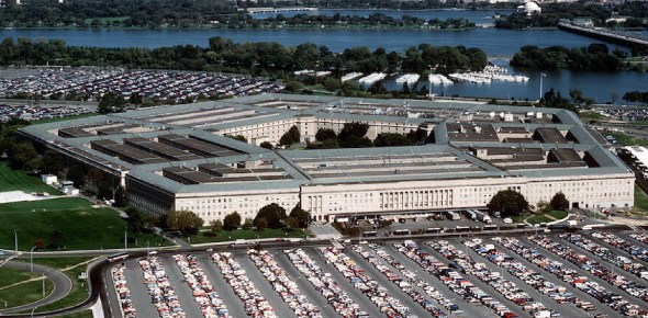 Is Pentagon the centre for foreign policy in the US?