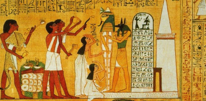 One of the main differences between the Egyptians and the Sumerians that people are familiar with