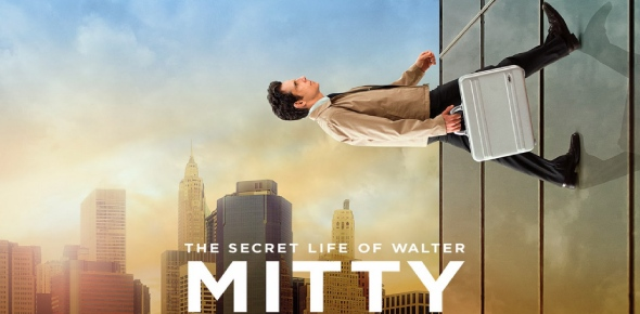 What are the themes that The Secret Life Of Walter Mitty tries to explore?