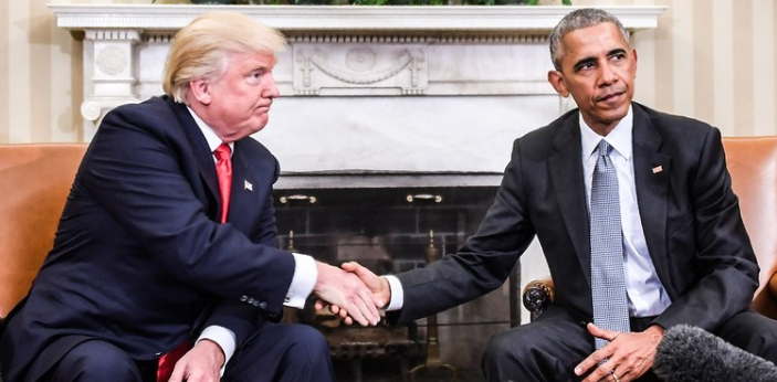 Donald Trump and Barrack Obama are two of the well-known presidents of the U.S.A in today's