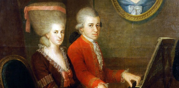 Mozart, as well as, other great composers are all part of a thing called classical music. Classical