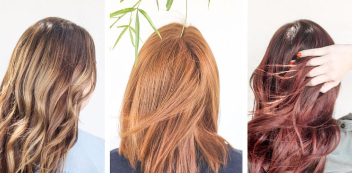 When you say highlights, only a few strands of your hair are colored, and highlights also mean that