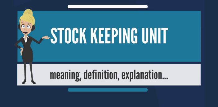 SKU is the acronym for Stock Keeping Unit, and UPC is the acronym for Universal Product Code.