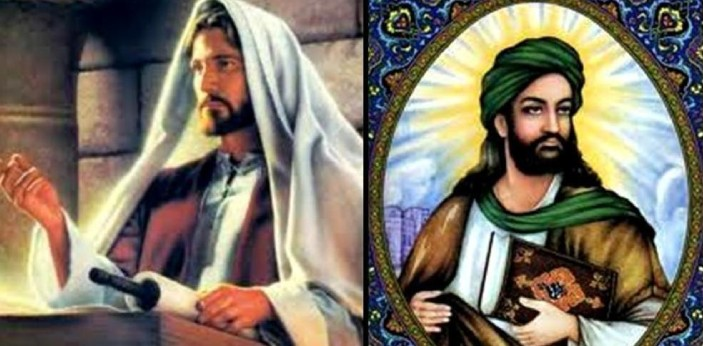 I think the only way to differentiate between Jesus and Muhammad is by looking at some information