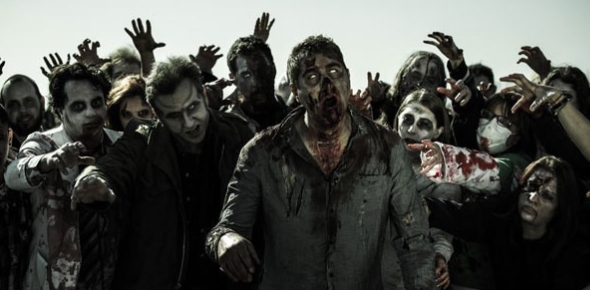 There are a number of theories as far as what caused the zombie apocalypse. One is that it was a
