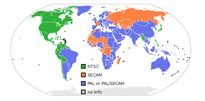 NTSC stands for National Television System Committee, which is the television broadcasting system