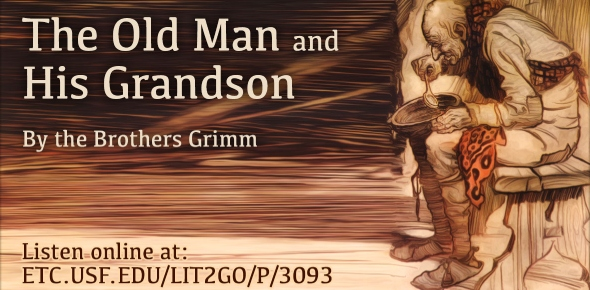 """What are two things that make it difficult for the grandfather to take care of himself in """"The Old Grandfather and His Little Grandson""""?"""