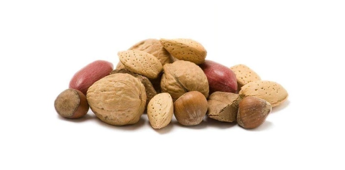 A nut is considered a fruit, and a bean is thought of as a seed. Nuts only have one or two seeds,