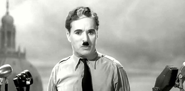 What was the reaction of Hitler after watching Chaplin's the Great Dictator?