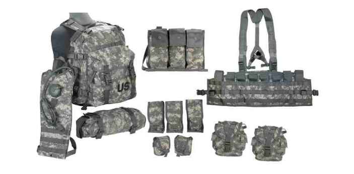 MOLLE stands for modular A Lightweight A Load-carrying A equipment. ALICE stands for All-Purpose