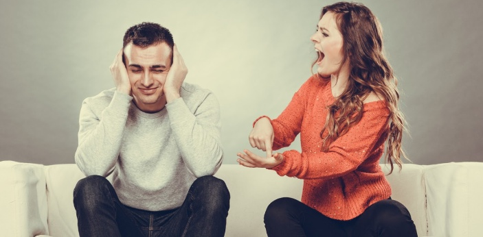 The biggest challenge that you have to face when you are dealing with an angry partner is you have