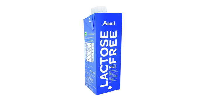 Lactose-free milk is made from cow's milk with the lactose removed,   while soy milk is made