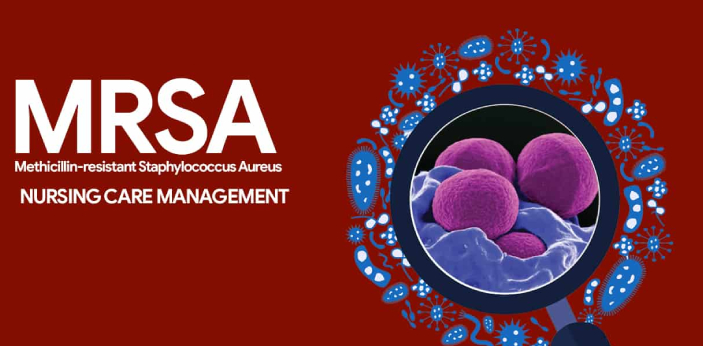 MRSA stands for Methicillin Resistant Staph Aureus. This is commonly known as Staph or strep. Many