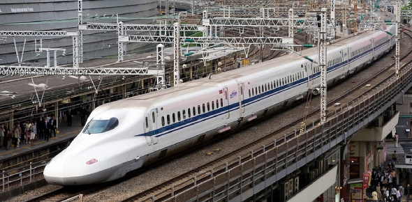 A bullet train is known to be a high-speed service train that will allow people to get to their