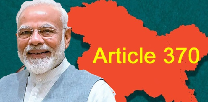 It was Narendra Modi government that removed article 370 with the help of he Home Minister of