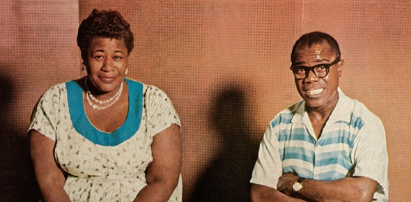 How did Louis Armstrong and Ella Fitzgerald meet?