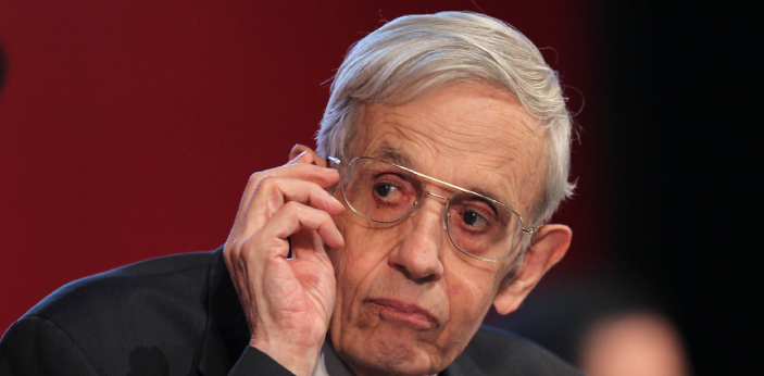 """John Nash whose life is depicted in the biography and film """"A Beautiful Mind,"""" is a"""