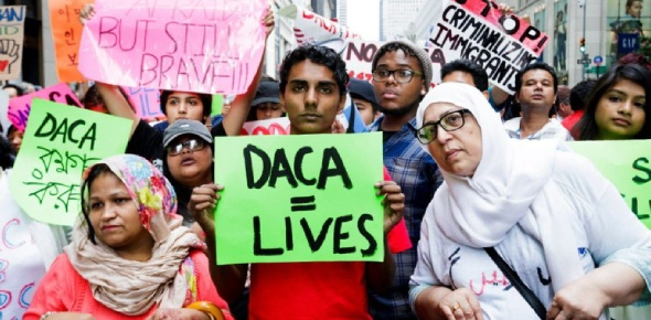 DACA stands for Deferred Action for Childhood Arrivals. This will make sure that children who were