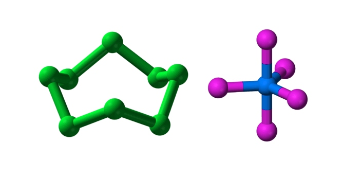 A molecule is an end result of the interaction and combination of two or more atoms chemically.