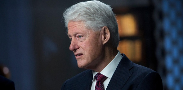 Bill Clinton was named William Jefferson Blythe II at the time of his birth. He was born in Hope,