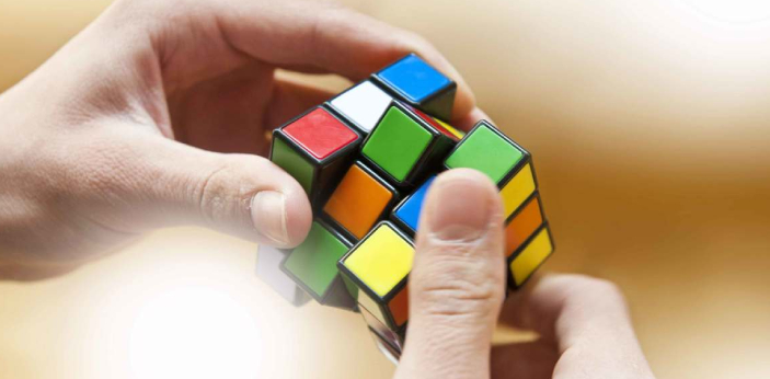 Solving the Rubik's cube can be very challenging when you are just starting to try to figure