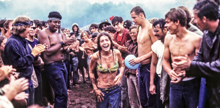 The Original Woodstock Music Festival only happened once. This started on August 15 in the year