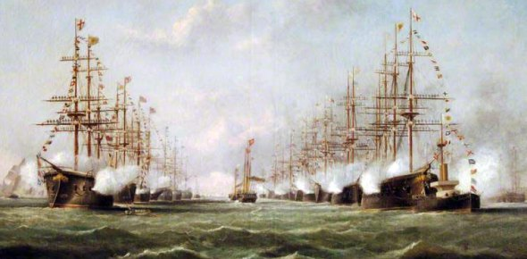 Which empire had the best navy?