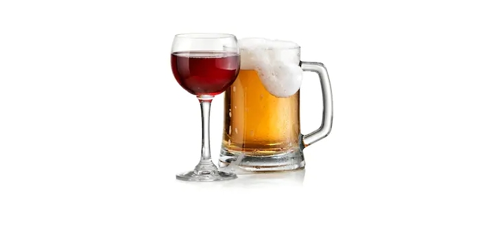 Beer and wine are two functional beverages that can be used to cook and taken as a drink when