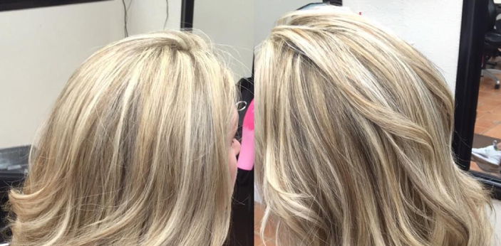 Both Highlights and Lowlights are used for changing hair color. They are hairstyling materials