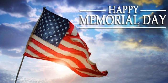 Memorial Day is an American holiday for people to pay tribute to the martyred soldiers by honoring