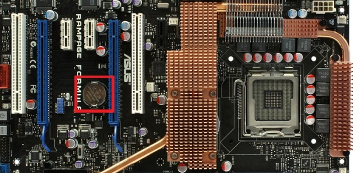 CMOS means Complementary Metal Oxide Semiconductor, while BIOS is the short form of Basic Input