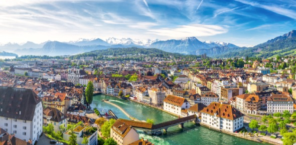 The most beautiful cities in Switzerland are difficult to determine because the whole country is