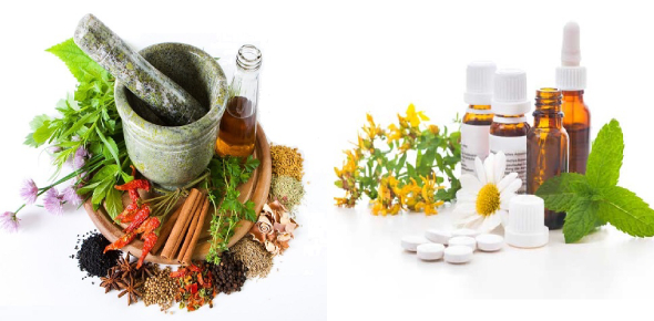Ayurveda and homeopathy are two types of alternative medications. Ayurveda is one of the oldest