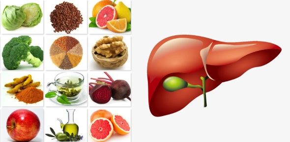 What type of food is good for our liver?