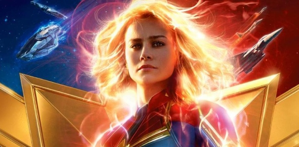 When will Captain Marvel HIT the screens worldwide?