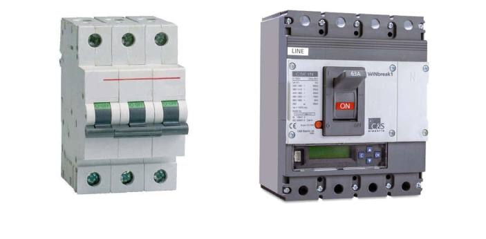 MCB and MCCB are the short forms of Miniature Circuit Breaker and Molded Case Circuit Breaker. As