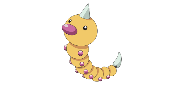 What type of species is Weedle?