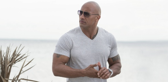 Does Dwayne Johnson have abs?