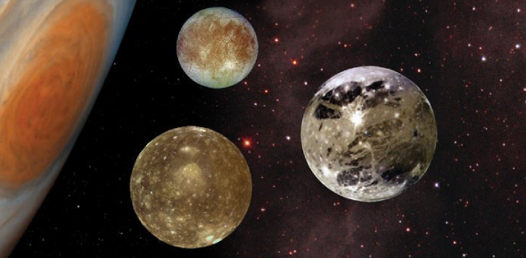 Which is the largest moon of Jupiter?
