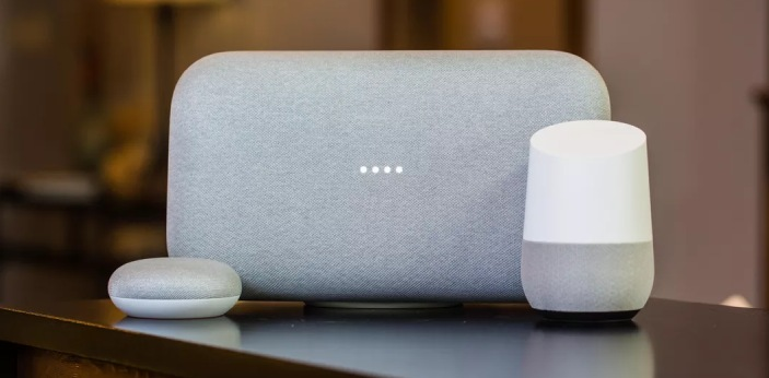 If you are not familiar with Google Home and Google Home mini, these are the speakers that are