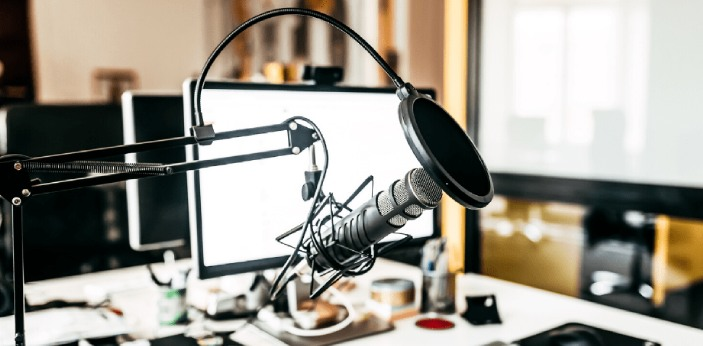 A podcast is a digital audio file that can be downloaded by users from the internet. It includes a