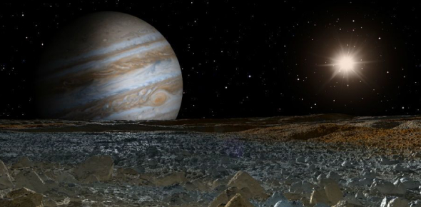 Can a spacecraft ever be landed on the surface of Jupiter?
