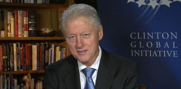Most likely, Hilary Clinton probably has a stronger fan following than Bill Clinton. This is