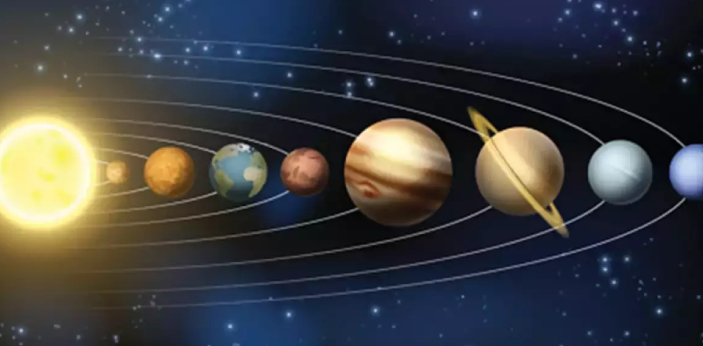Belts represent the regions of the surface or atmosphere of the planets Jupiter and Saturn that are