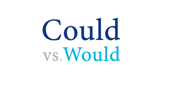 Would and could are both popularly used English words. Would is the past tense of