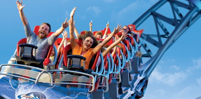 To some extent, I do like rollercoaster rides. I am not the type of person who would live for