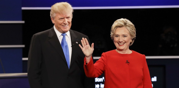 There are probably so many differences between Donald Trump and Hillary Clinton that there is not