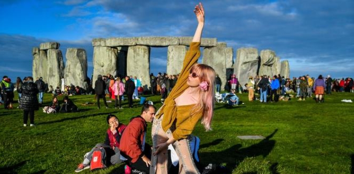 The summer solstice is referred to as midsummer most notably in northern Europe such as Sweden,