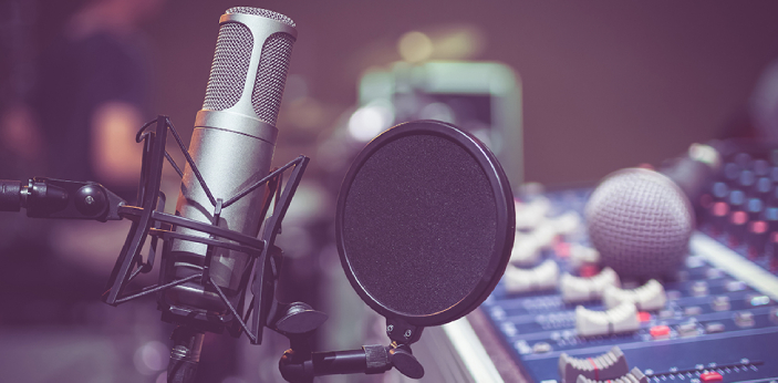 A podcast is a series of episodic audio files that the listener can download and hear. Podcasting