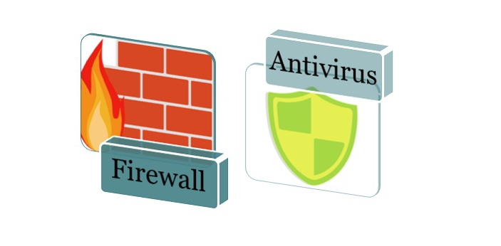 Firewall and Antivirus are both designed to serve as a protection mechanism for your system. We are